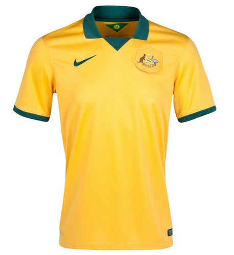 Australia Nike Socceroos Home Jersey 2015 - AFC Champions!