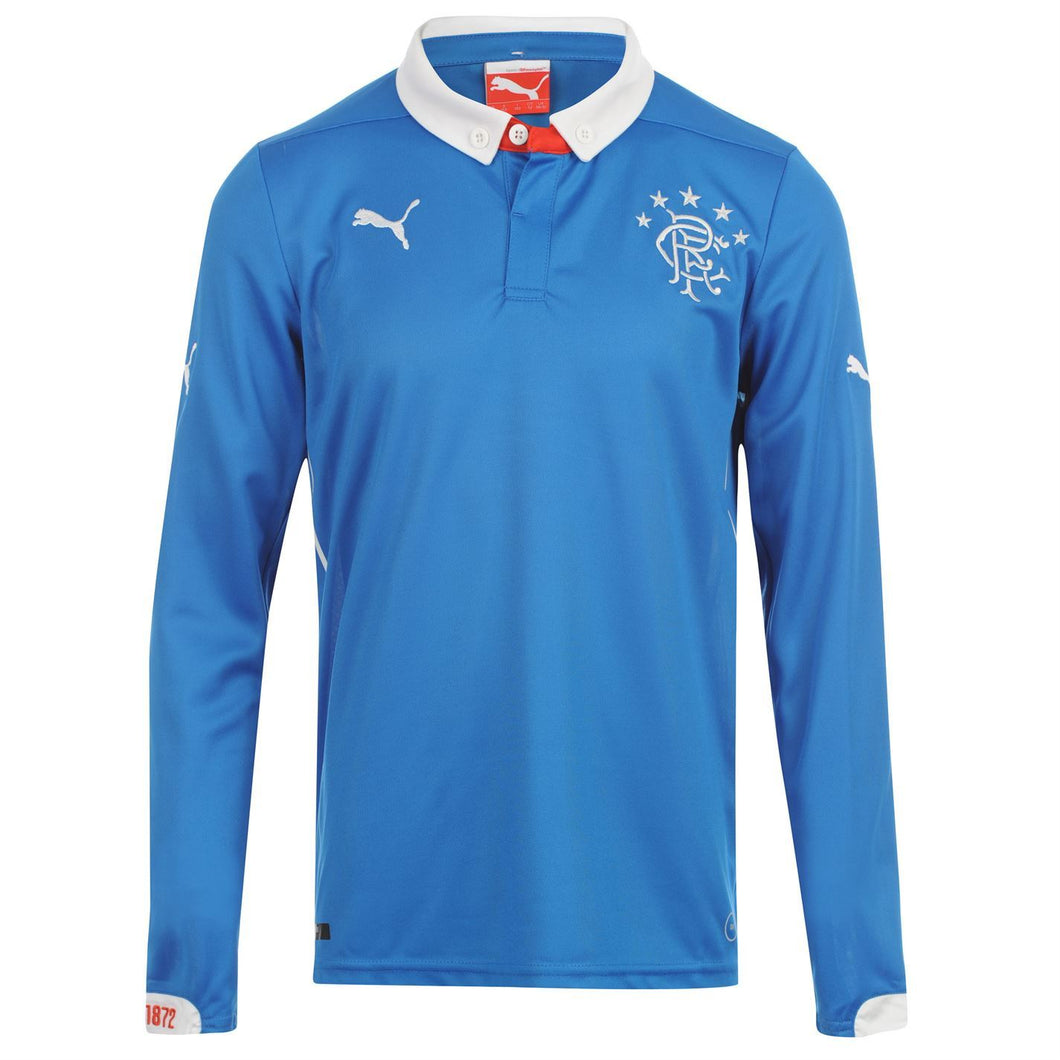 Puma Glasgow Rangers Home Jersey 2014 2015 Royal Blue Juniors