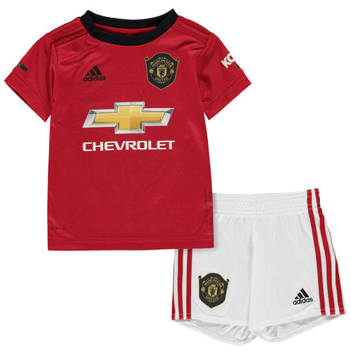 adidas Manchester United Home Baby Kit 2019 2020 Infants Red