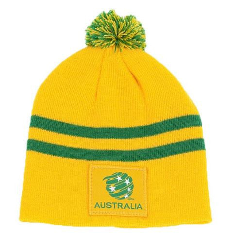Australia Socceroos Official Baby/Toddler Mini Pom Pom Beanie Hat