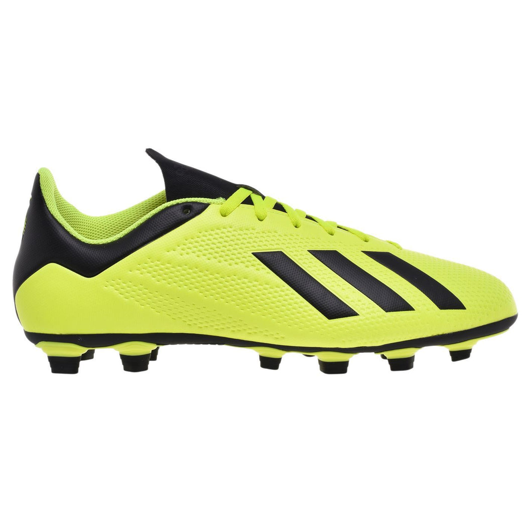 adidas X 18.4 Firm Ground FG Football Boots Mens Yellow