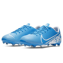 Nike Mercurial Vapor Academy FG Football Boots Junior Boys Blue /White