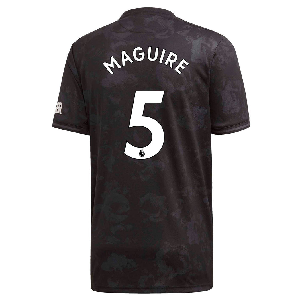 adidas Manchester United Maguire 3rd Shirt 2019 20 Mens Black