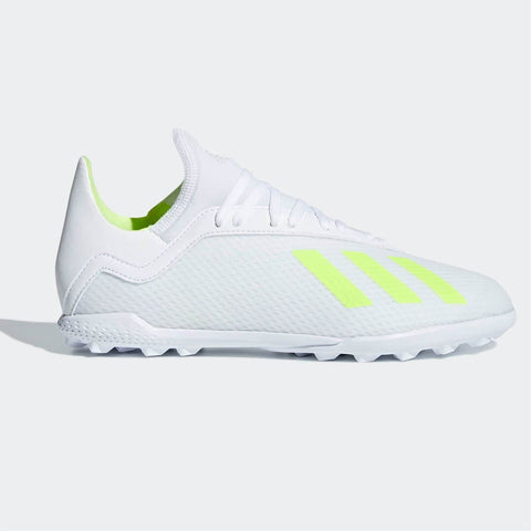 adidas X Tango 18.3 s Astro Turf Football Boots Child Boys White/Yellow