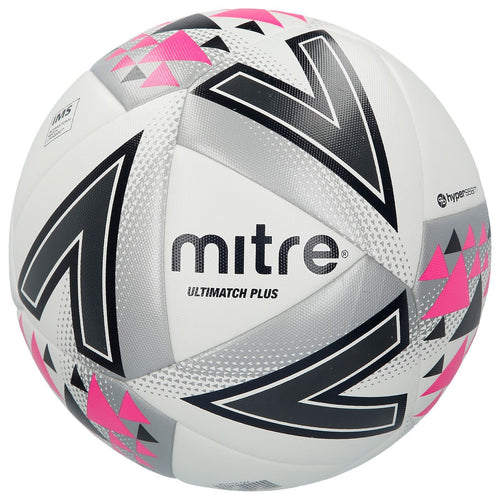 Mitre Ultimatch Plus Hyperseam Football White