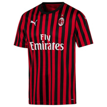 Puma AC Milan Home Shirt 2019 2020 Mens Red/Black