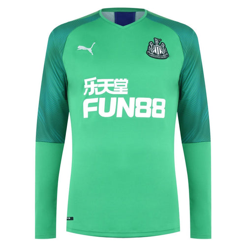 Puma Newcastle United Home Goalkeeper Shirt 2019 20 Mens Green