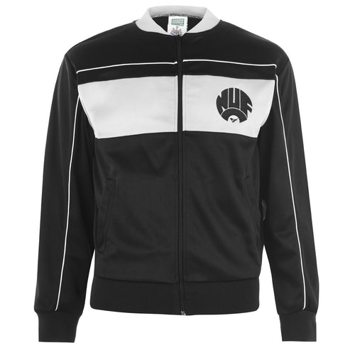 Newcastle United 1984 Track Jacket Mens Black