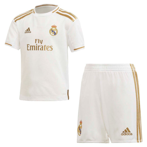 adidas Real Madrid Home Mini Kit 2019 2020 Childs White