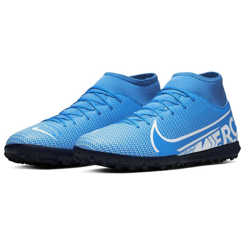 Nike Mercurial Superfly Club DF Astro Turf Football Boots Mens Blue /White