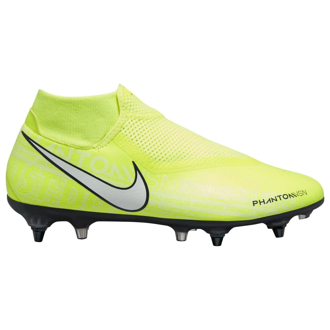 Nike Phantom Vision Academy DF SG Football Boots Mens Yellow/White