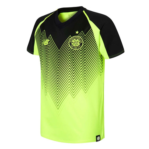 New Balance Celtic Third Jersey 2018 2019 Juniors Yellow