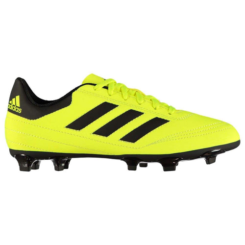 adidas Goletto FG s Football Boots Child Boys Yellow/Black