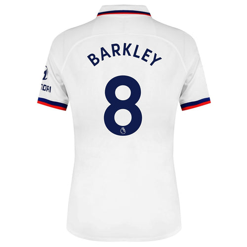 Nike Chelsea Barkley Away Shirt 2019 2020 Juniors White
