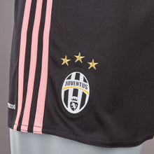adidas Juventus Away Shorts 2015 2016 Black/Pink Mens