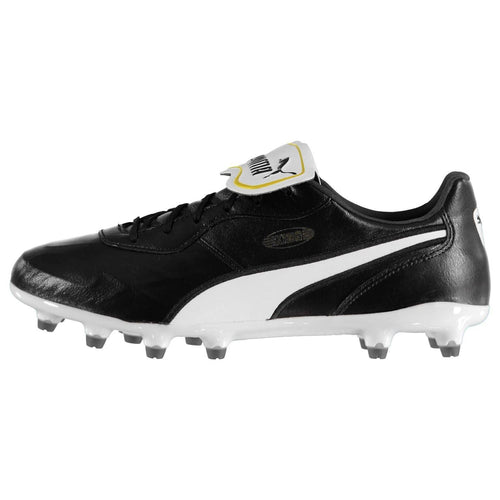 Puma King Top FG Football Boots Mens Black/White