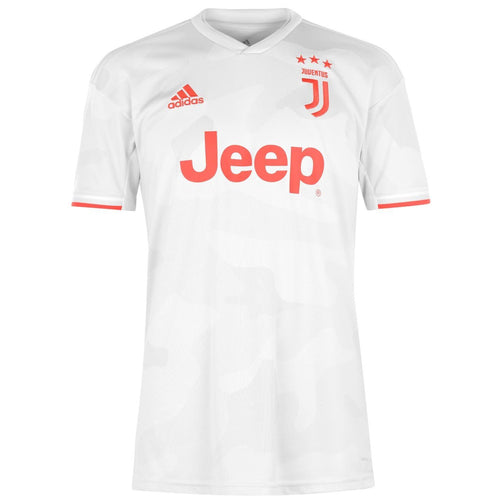 adidas Juventus Away Shirt 2019 2020 Mens White
