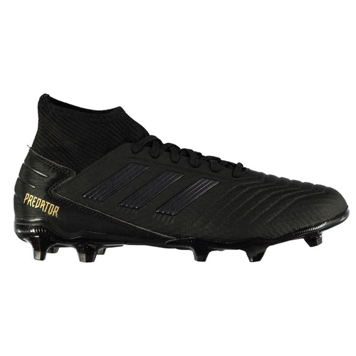 adidas Predator 19.3 FG Football Boots Mens Black