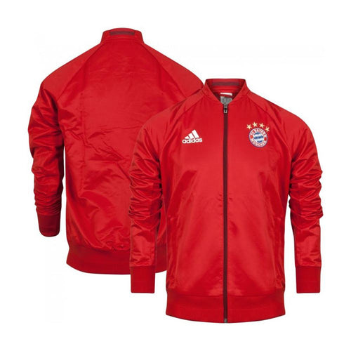 adidas FC Bayern Munich Anthem Jacket Red Mens
