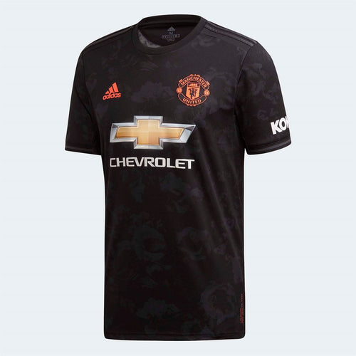 adidas Manchester United Third Shirt 2019 20 Mens Black