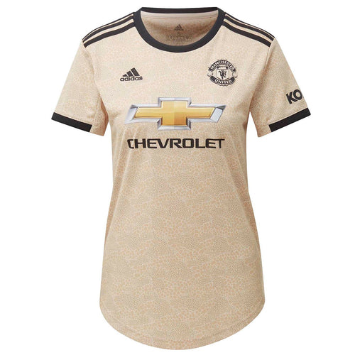 adidas Manchester United Away Shirt 2019 20 Womens Linen