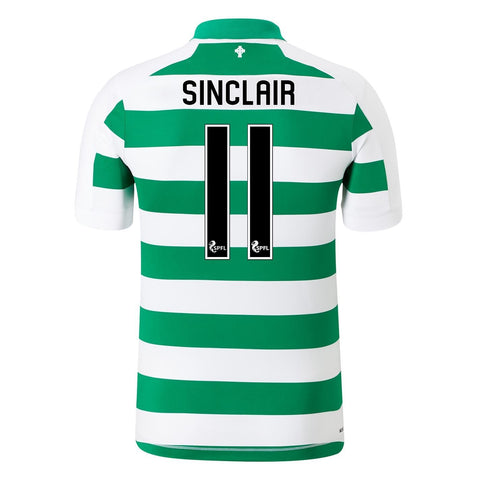 New Balance Celtic Sinclair Home Shirt 2019 20 Juniors Wht/Green