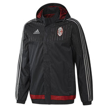 adidas AC Milan All Weather Jacket Black Mens
