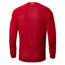New Balance Liverpool Long Sleeve Home Shirt 2019 20 Mens Red