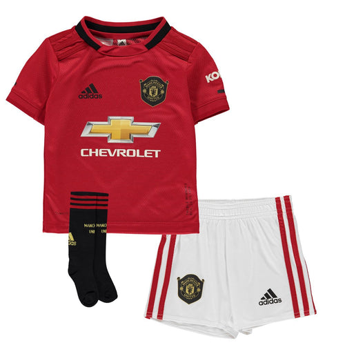 adidas Manchester United Home Mini Kit 2019 2020 Childs Red