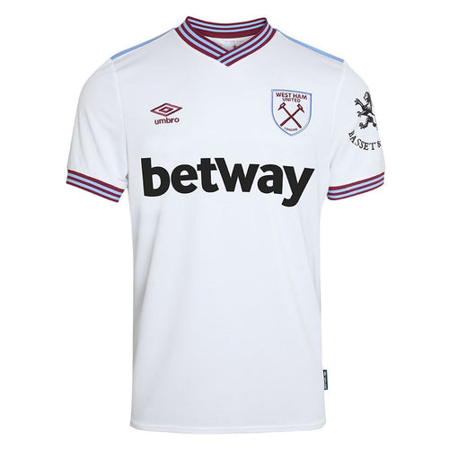Umbro West Ham United Away Shirt 2019 2020 Mens White
