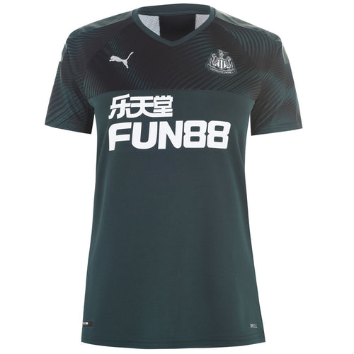 Puma Newcastle United Away Shirt 2019 20 Womens Green/Black
