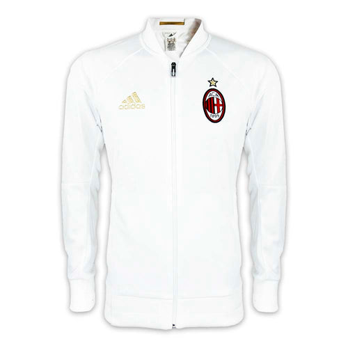 adidas AC Milan Anthem Jacket Mens White