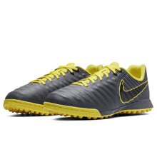 Nike Tiempo Legend Academy Astro Turf Football Boots Junior Boys Grey/Yellow