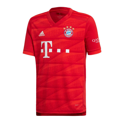 adidas Bayern Munich Home Shirt 2019 2020 Juniors Red