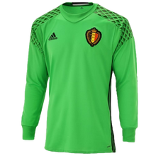 adidas Official Belgium International Home Goalkeeper Jersey