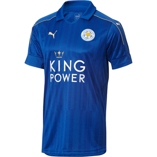 Puma Leicester City Home Jersey 2016 2017 Mens Blue