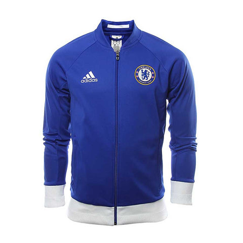 adidas Chelsea Anthem Jacket Mens Blue