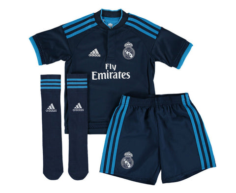adidas Real Madrid Mini Kit 2015-2016 3rd Infants Navy