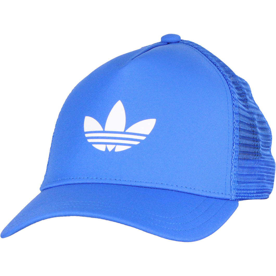 adidas Originals Trefoil Logo Trucker Cap Juniors Blue