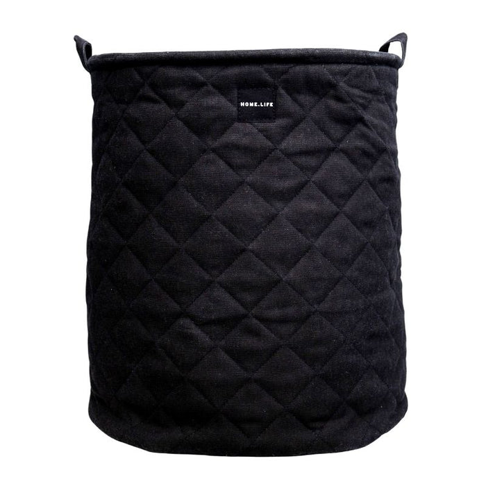 Quilted Laundry Basket
