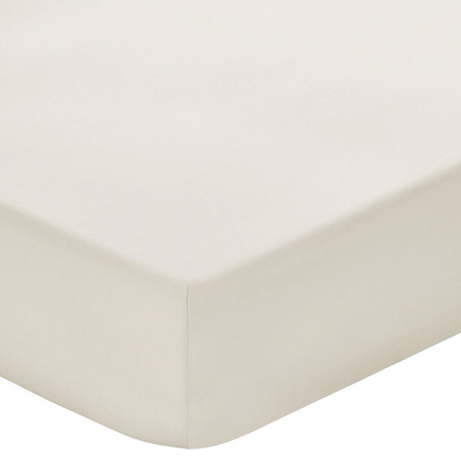 200 Thread Count 100% Cotton Stone Fitted sheet
