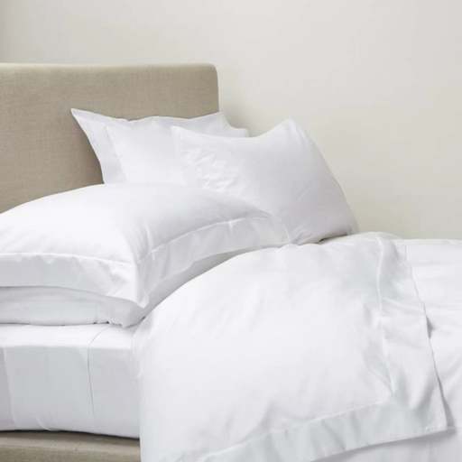 300 Thread Count Egyptian Cotton Percale Oxford Duvet Cover Set