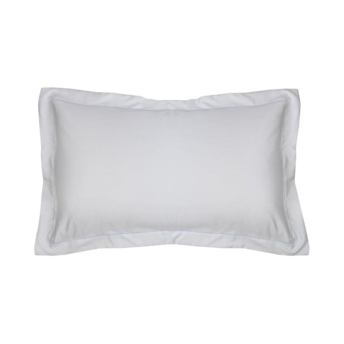 500 Thread Count Sateen Egyptian Cotton Silver Oxford Pillowcase