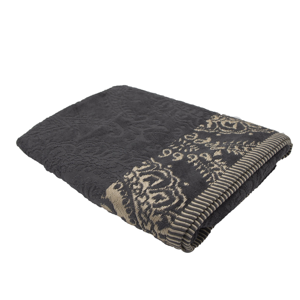 Cotton Bay Jacquard Border Bath Towel (70 x 130cm) - SELECT 2 FOR R249 or R199 each