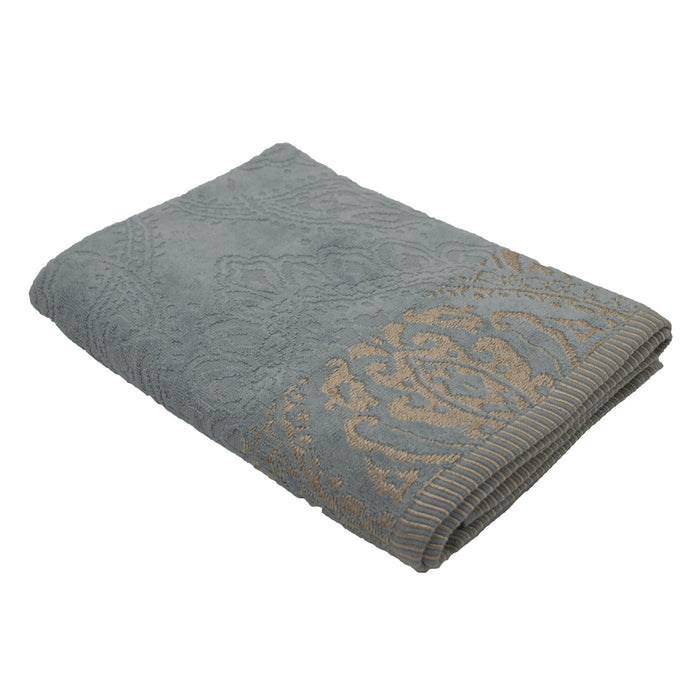 Cotton Bay Jacquard Border Hand Towel - SELECT 2 FOR R125 or R99 each