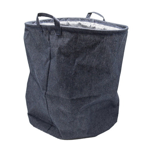 Plain Denim Laundry basket