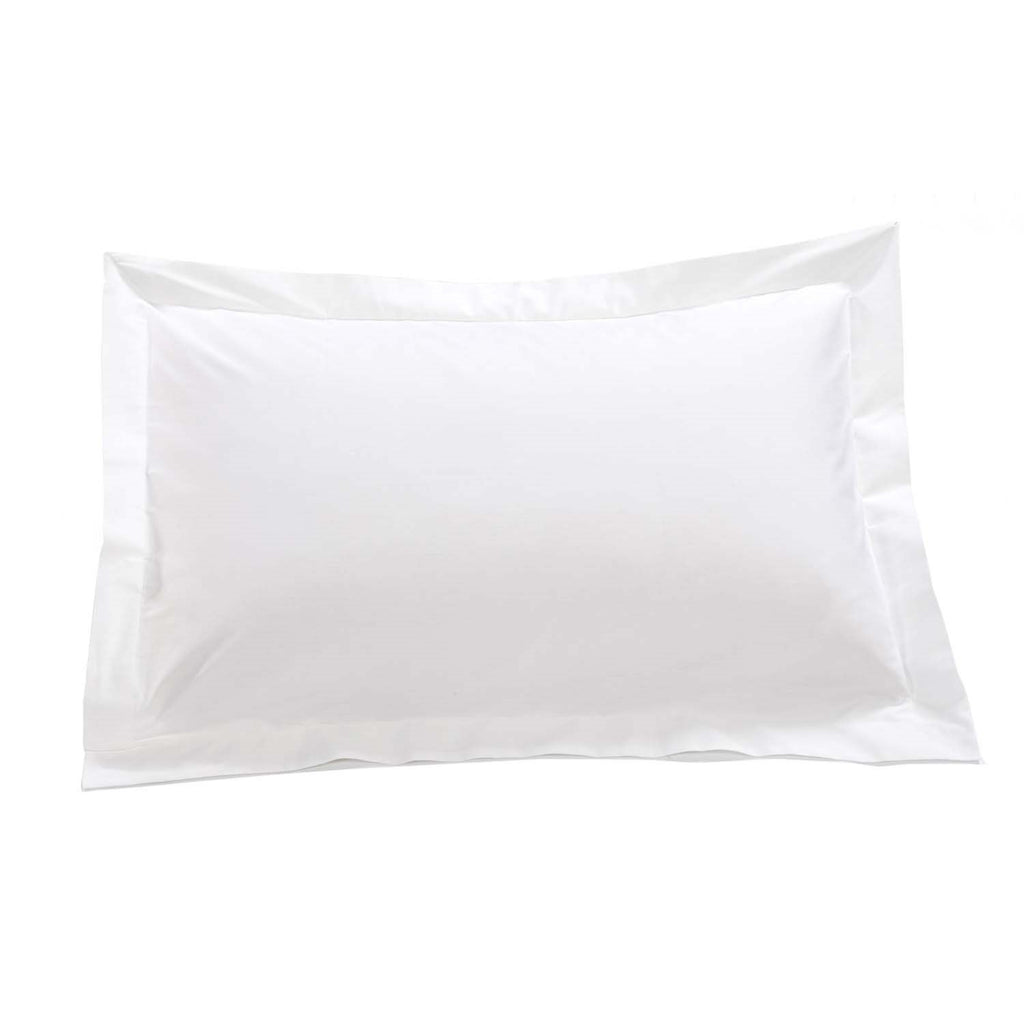 200 Thread Count Cotton Rich Percale  Oxford Pillowcase