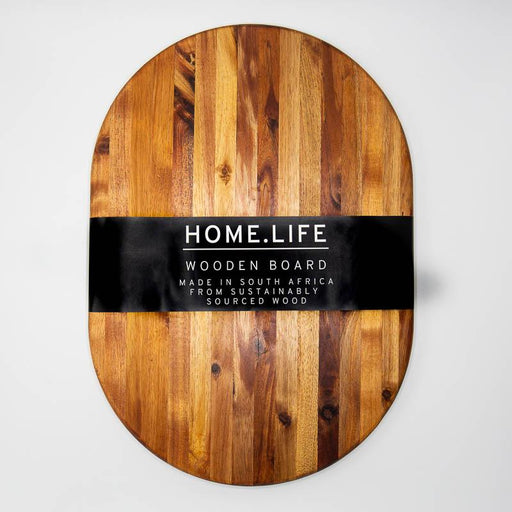 HOME.LIFE Round Chopping Board - large (50x35cm)