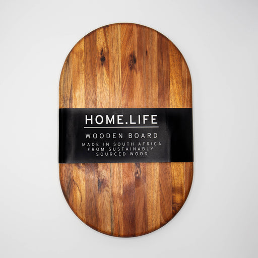 HOME.LIFE Round Chopping Board - medium (40x25cm)