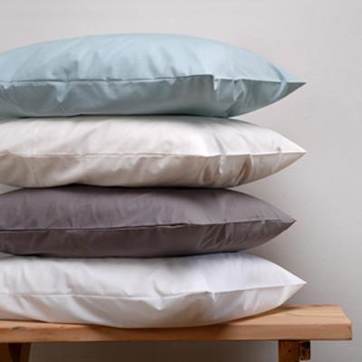 Cotton Rich Percale Pillowcase Charcoal 200TC